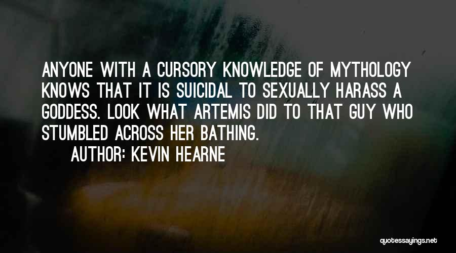 The Goddess Artemis Quotes By Kevin Hearne