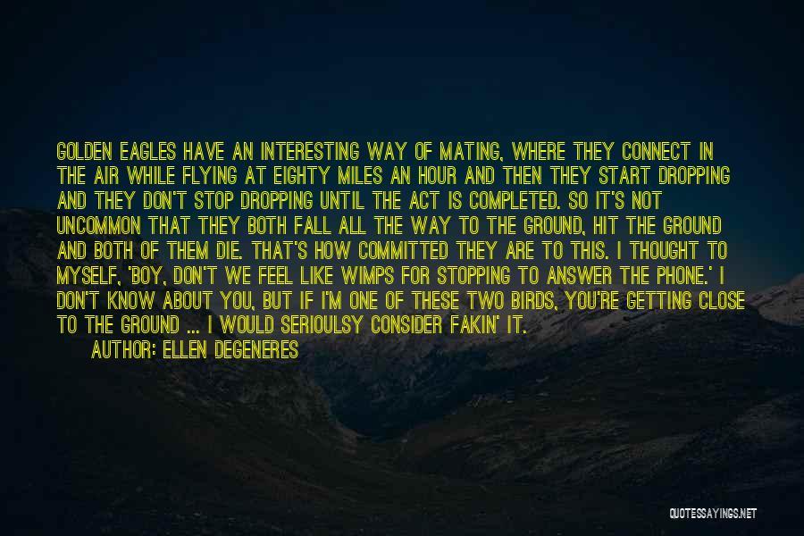 The Golden Hour Quotes By Ellen DeGeneres