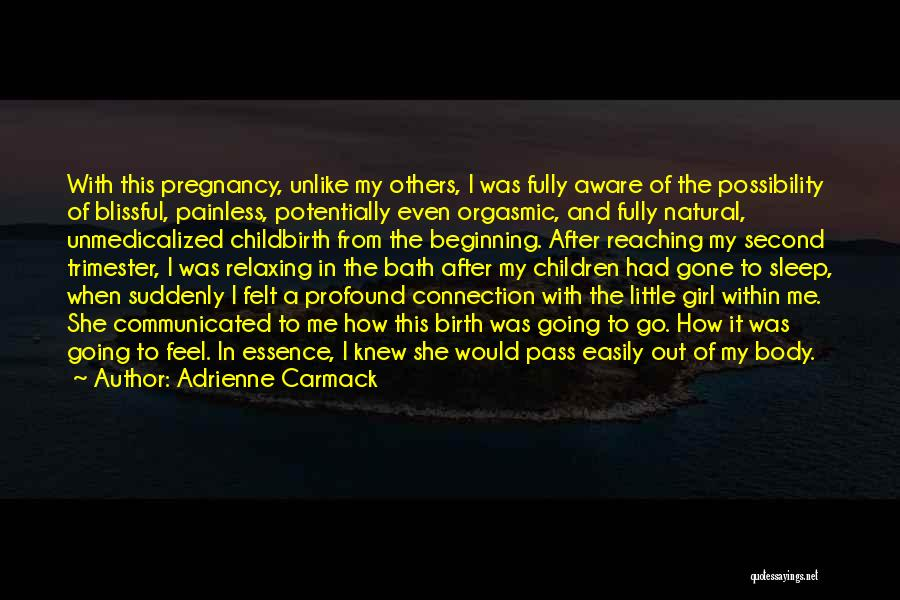 The Gone Girl Quotes By Adrienne Carmack