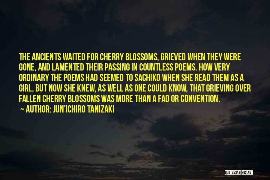 The Gone Girl Quotes By Jun'ichiro Tanizaki