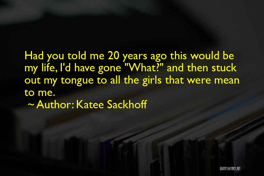 The Gone Girl Quotes By Katee Sackhoff