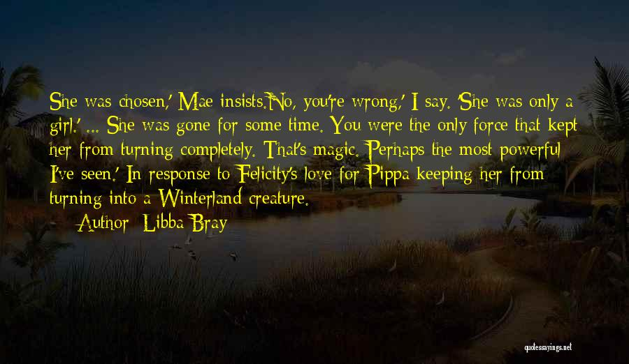 The Gone Girl Quotes By Libba Bray