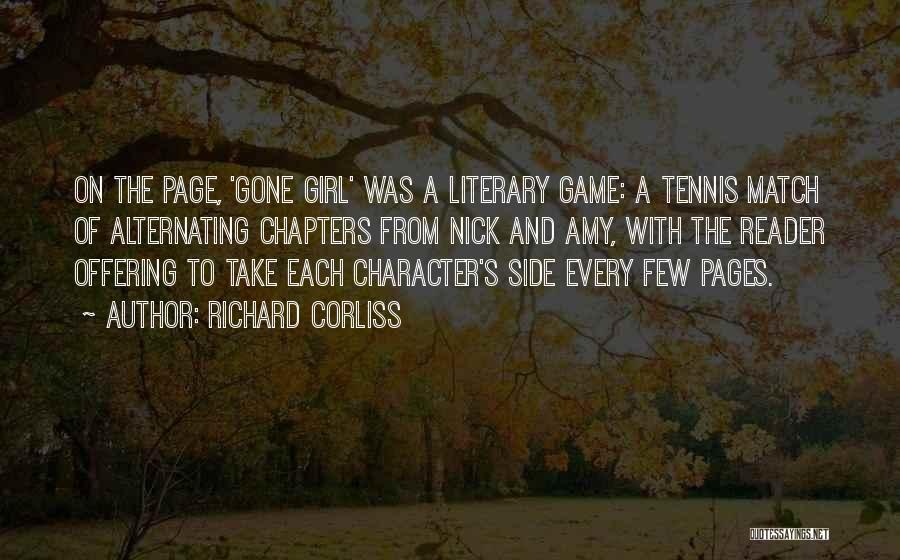 The Gone Girl Quotes By Richard Corliss
