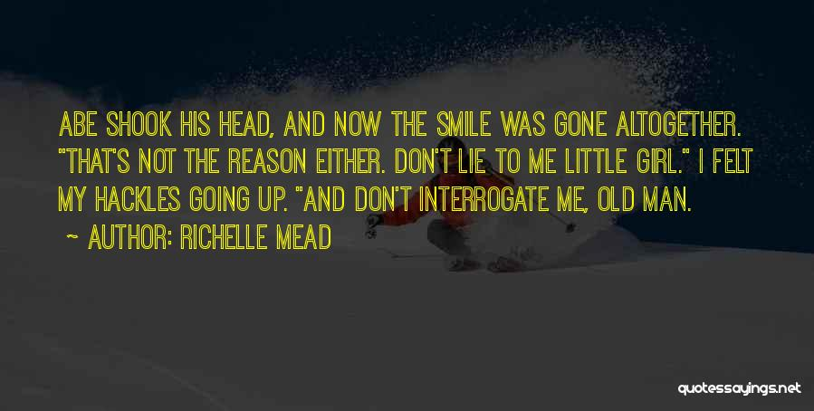 The Gone Girl Quotes By Richelle Mead