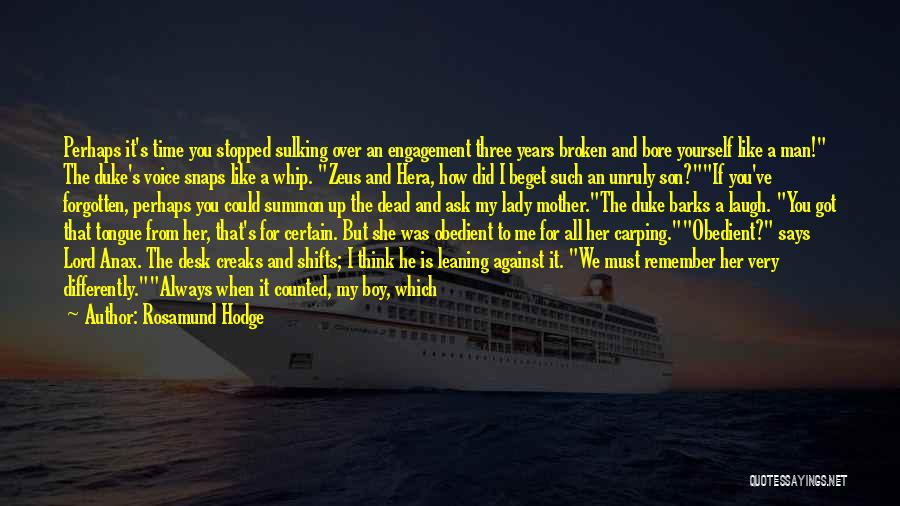 The Gone Girl Quotes By Rosamund Hodge