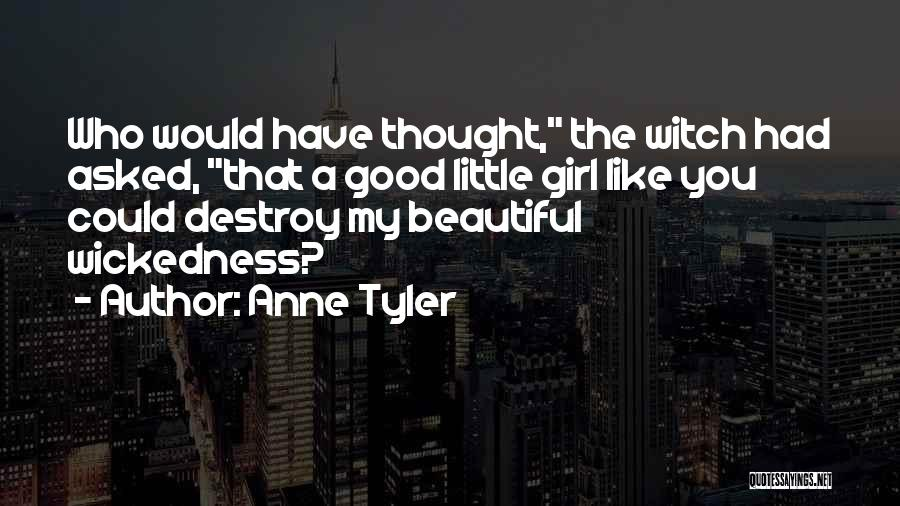 The Good Witch Quotes By Anne Tyler