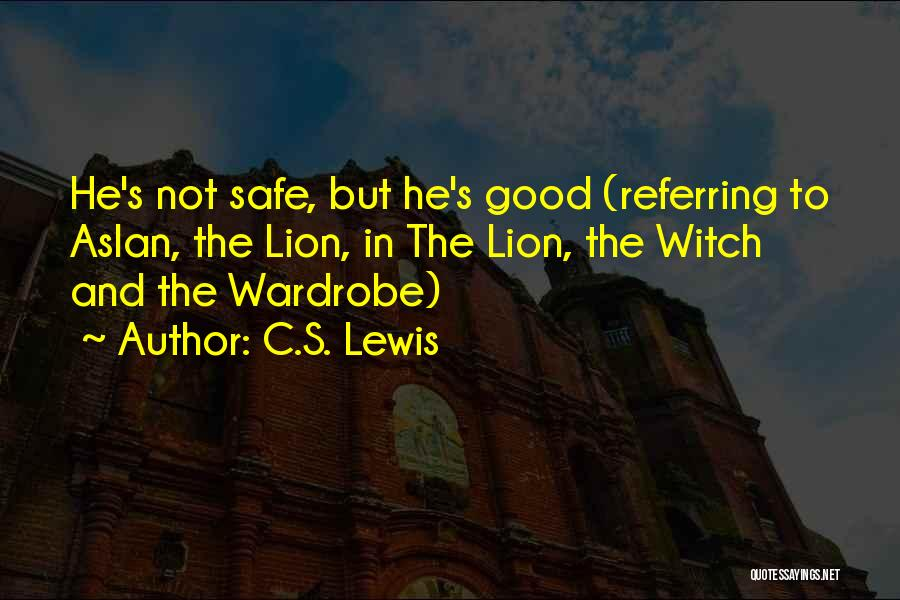 The Good Witch Quotes By C.S. Lewis