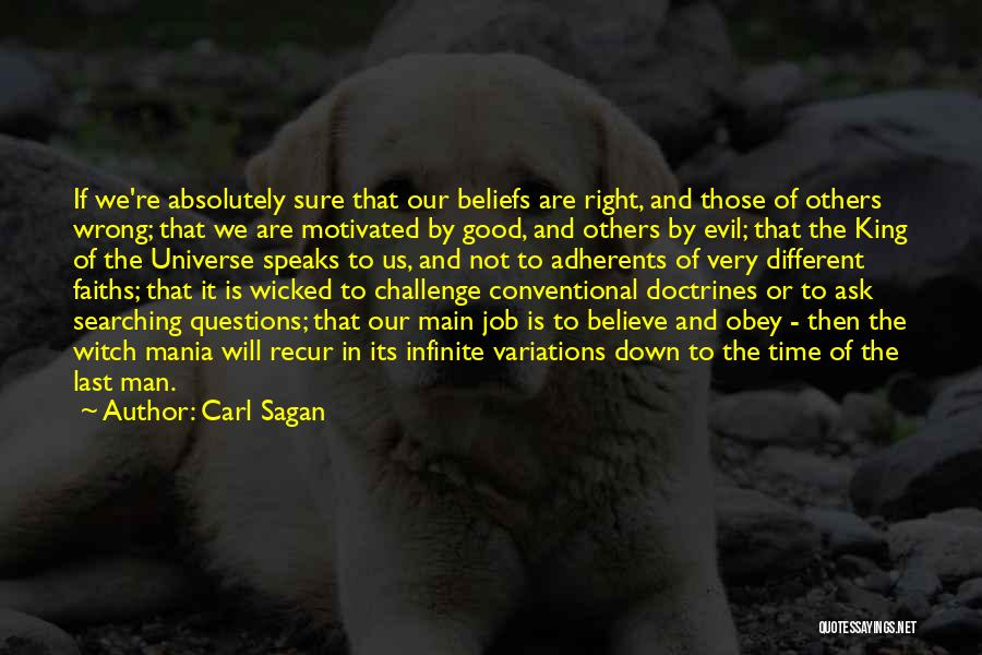The Good Witch Quotes By Carl Sagan