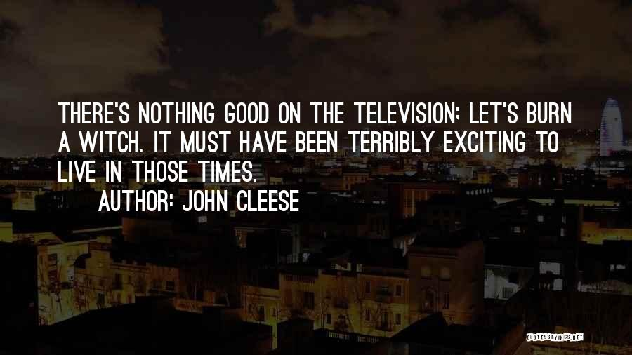 The Good Witch Quotes By John Cleese