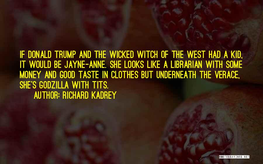 The Good Witch Quotes By Richard Kadrey