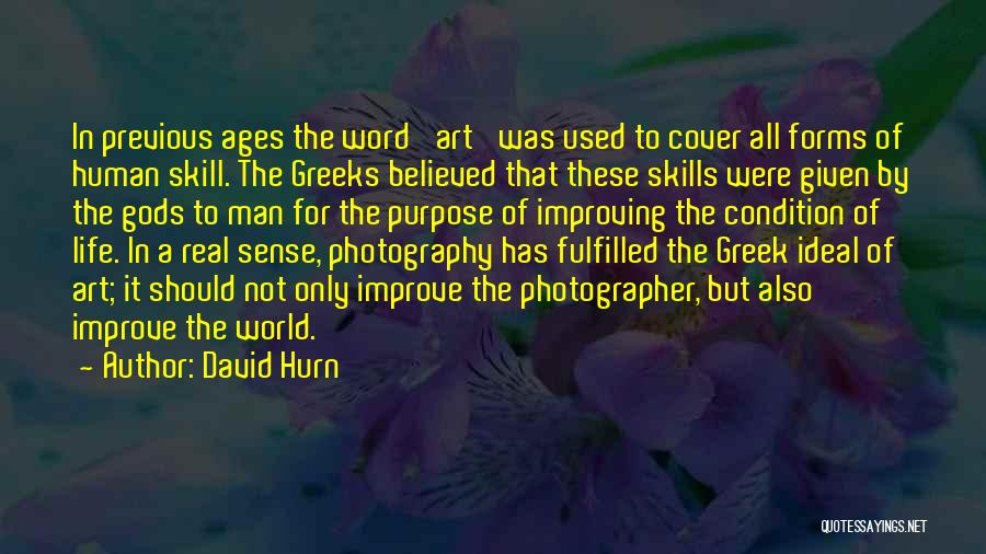 The Greek Gods Quotes By David Hurn