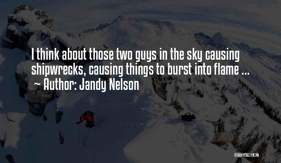 The Greek Gods Quotes By Jandy Nelson