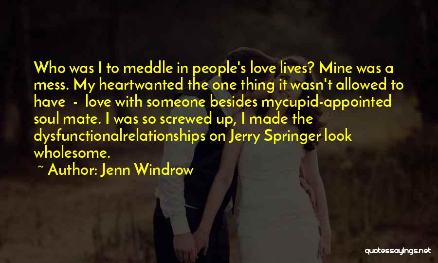 The Greek Gods Quotes By Jenn Windrow