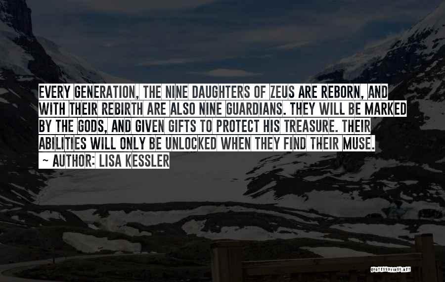 The Greek Gods Quotes By Lisa Kessler