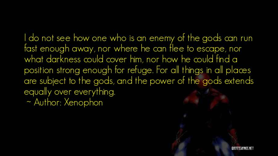 The Greek Gods Quotes By Xenophon