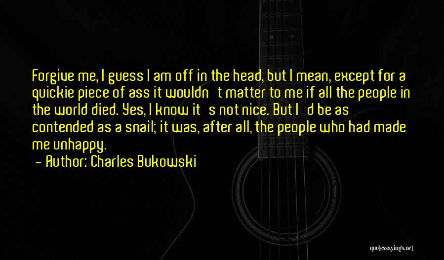 The Guess Who Quotes By Charles Bukowski