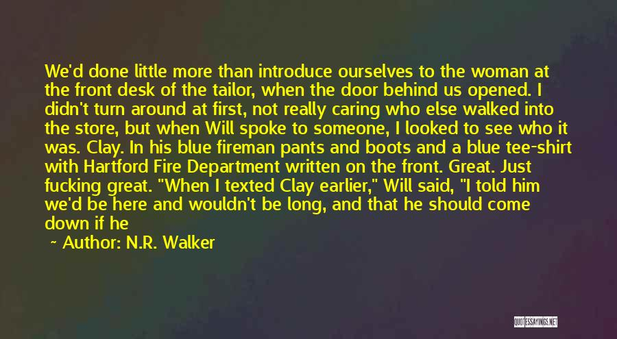 The Guess Who Quotes By N.R. Walker