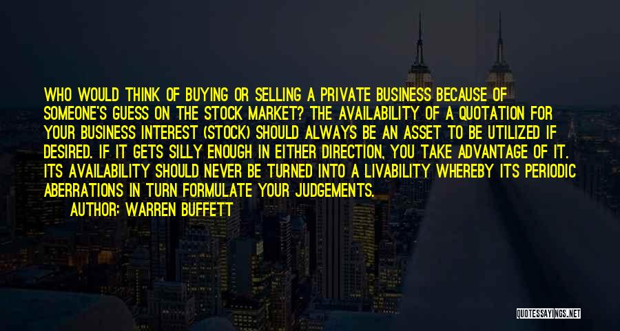 The Guess Who Quotes By Warren Buffett