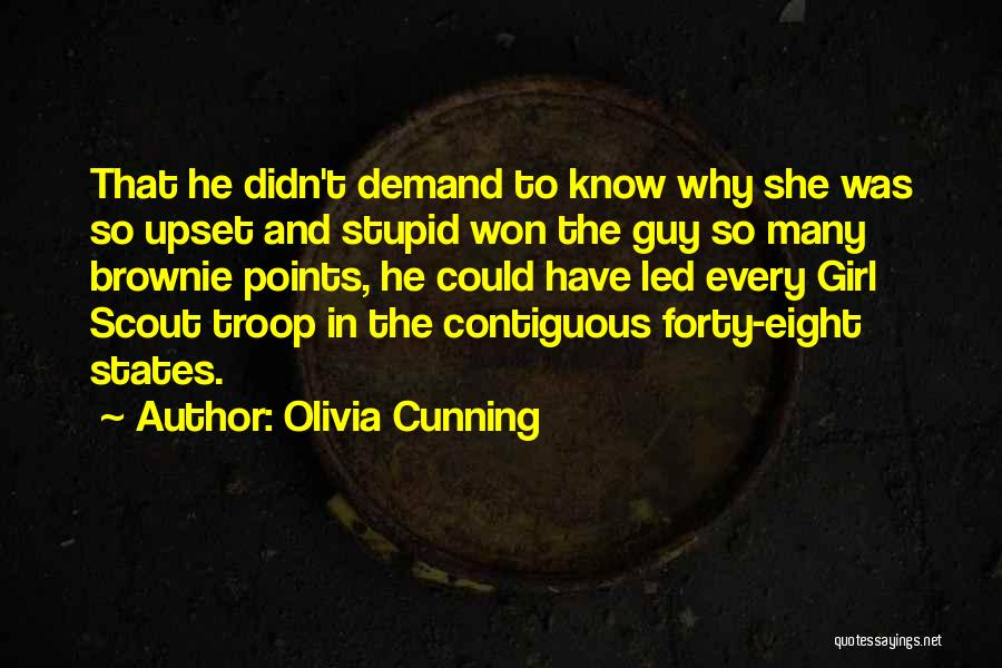 The Guy Every Girl Wants Quotes By Olivia Cunning