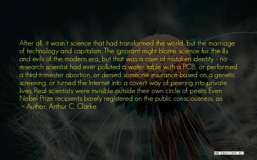 The Heisman Trophy Quotes By Arthur C. Clarke