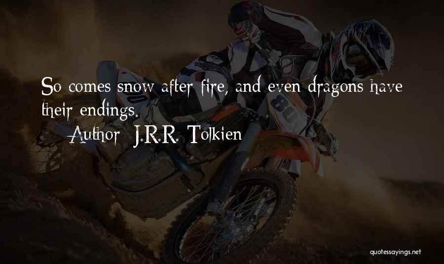 The Hobbit 2 Dragon Quotes By J.R.R. Tolkien