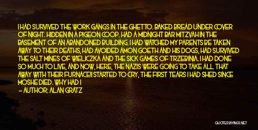 The Holocaust Concentration Camps Quotes By Alan Gratz