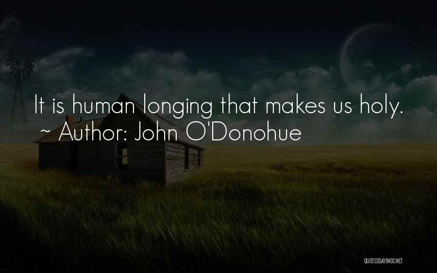 The Holy Longing Quotes By John O'Donohue