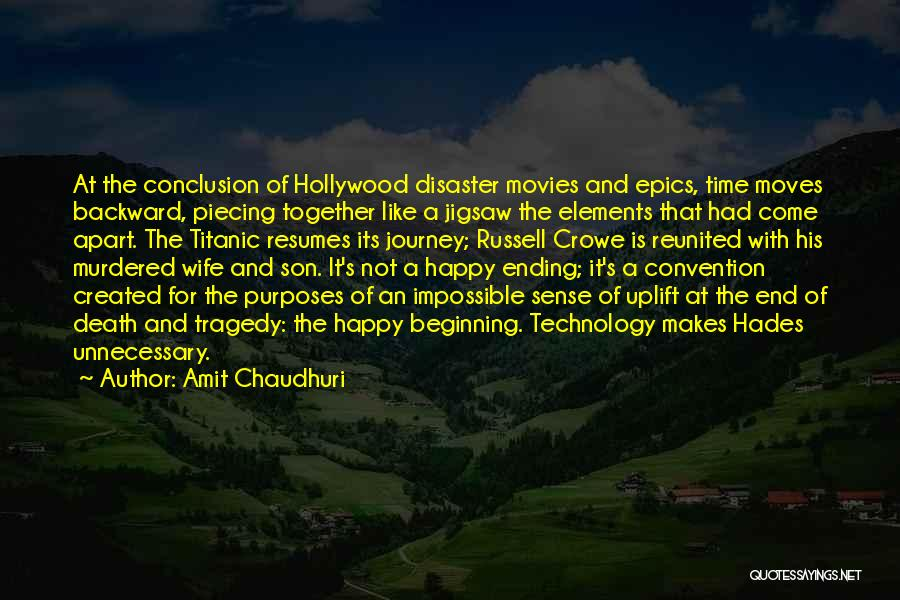 The Journey Of Death Quotes By Amit Chaudhuri