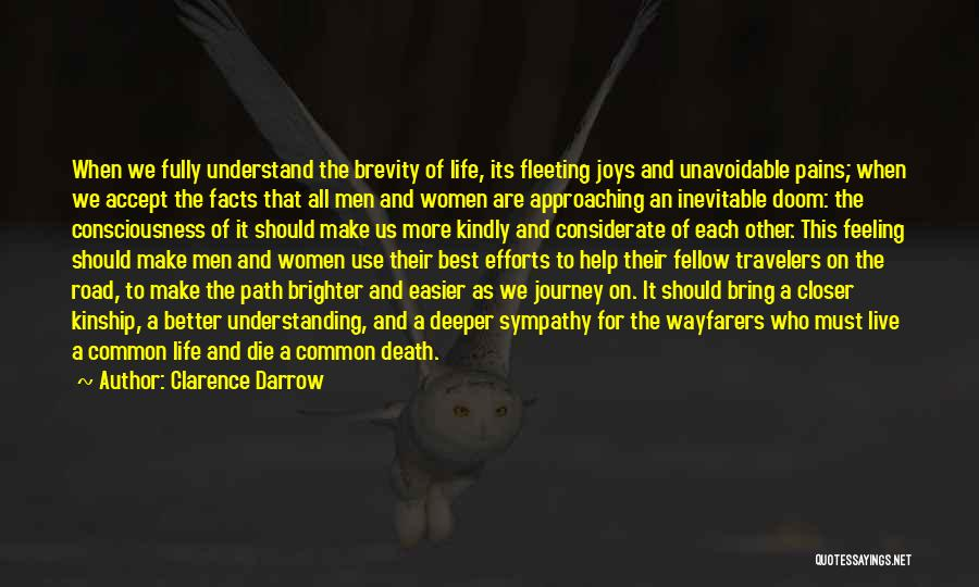 The Journey Of Death Quotes By Clarence Darrow