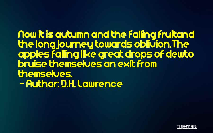 The Journey Of Death Quotes By D.H. Lawrence