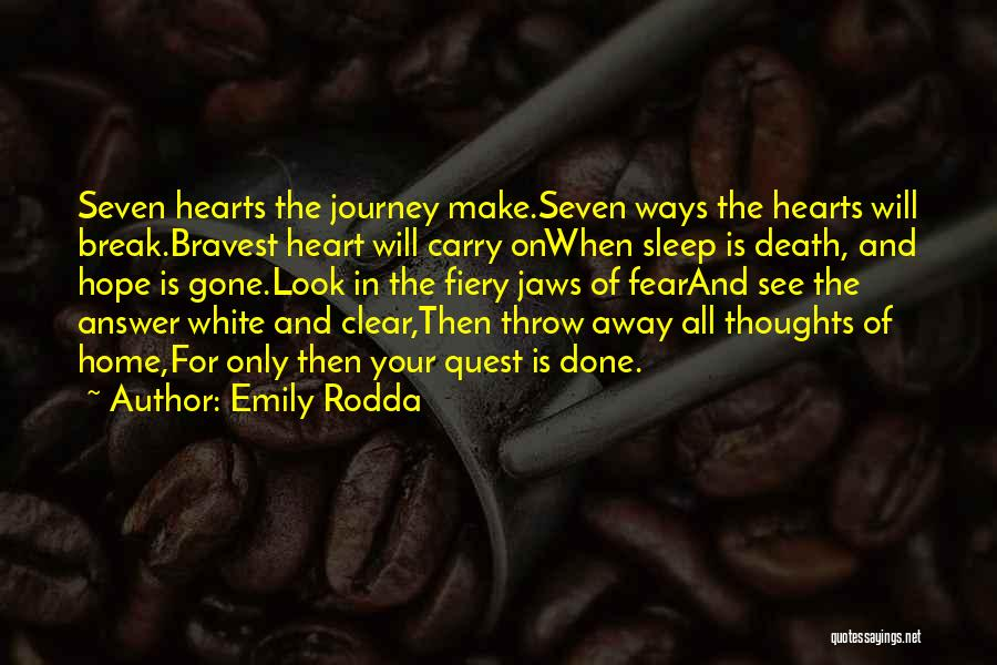 The Journey Of Death Quotes By Emily Rodda