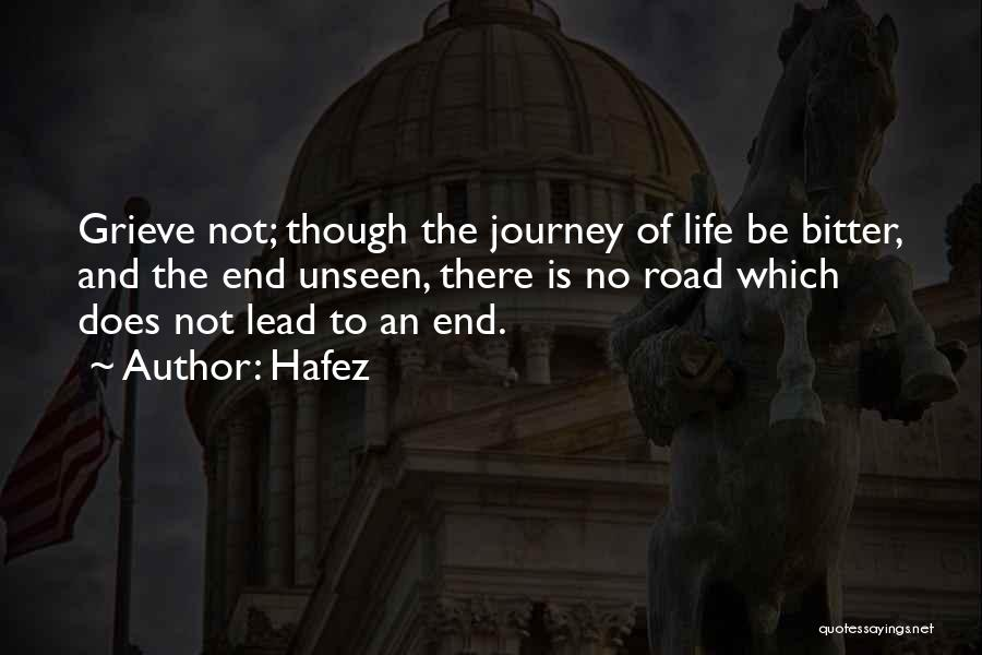 The Journey Of Death Quotes By Hafez