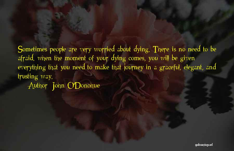 The Journey Of Death Quotes By John O'Donohue