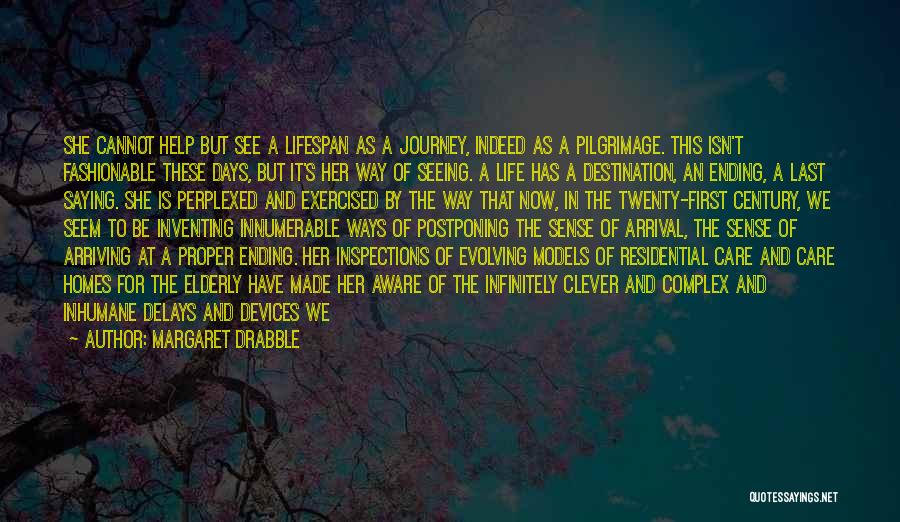 The Journey Of Death Quotes By Margaret Drabble