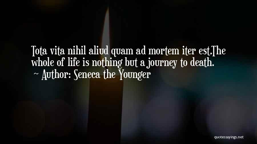 The Journey Of Death Quotes By Seneca The Younger