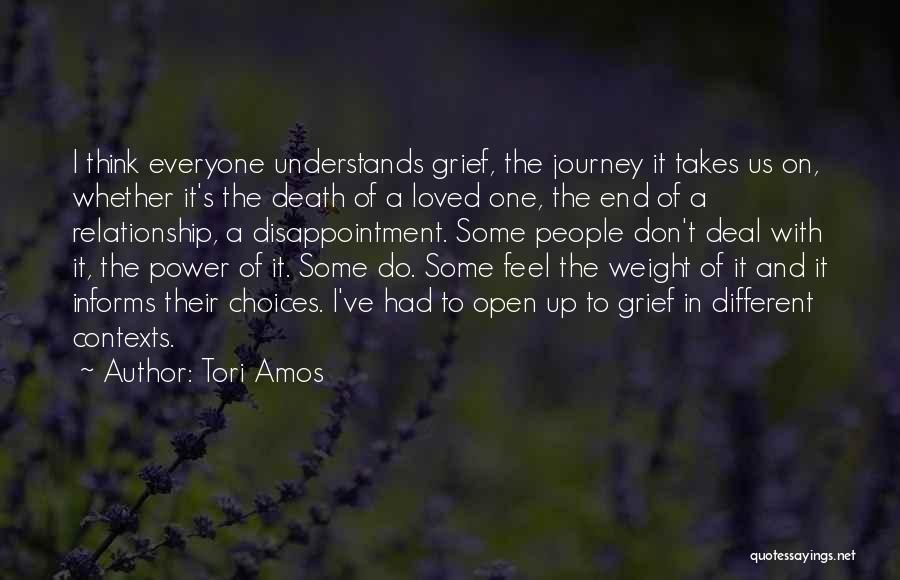 The Journey Of Death Quotes By Tori Amos