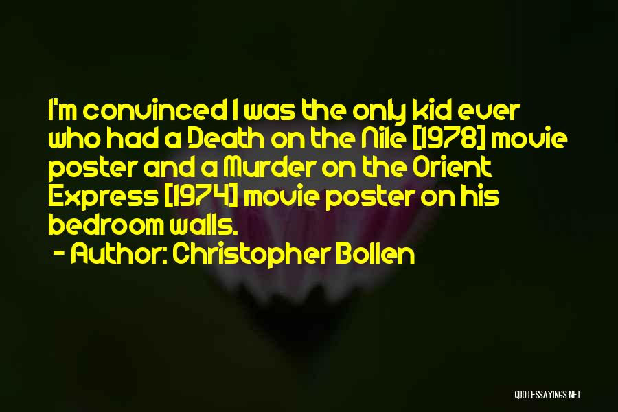 The Kid Who Quotes By Christopher Bollen