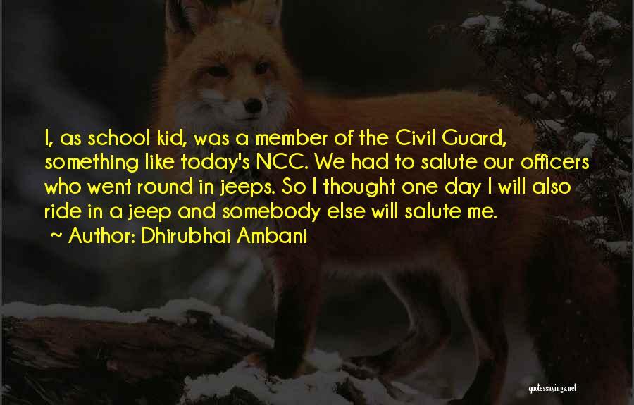 The Kid Who Quotes By Dhirubhai Ambani