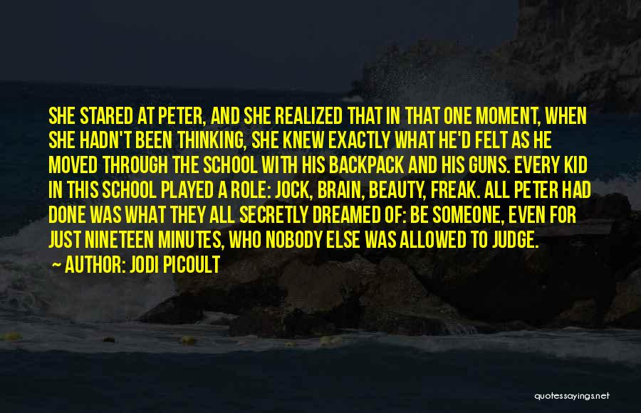 The Kid Who Quotes By Jodi Picoult
