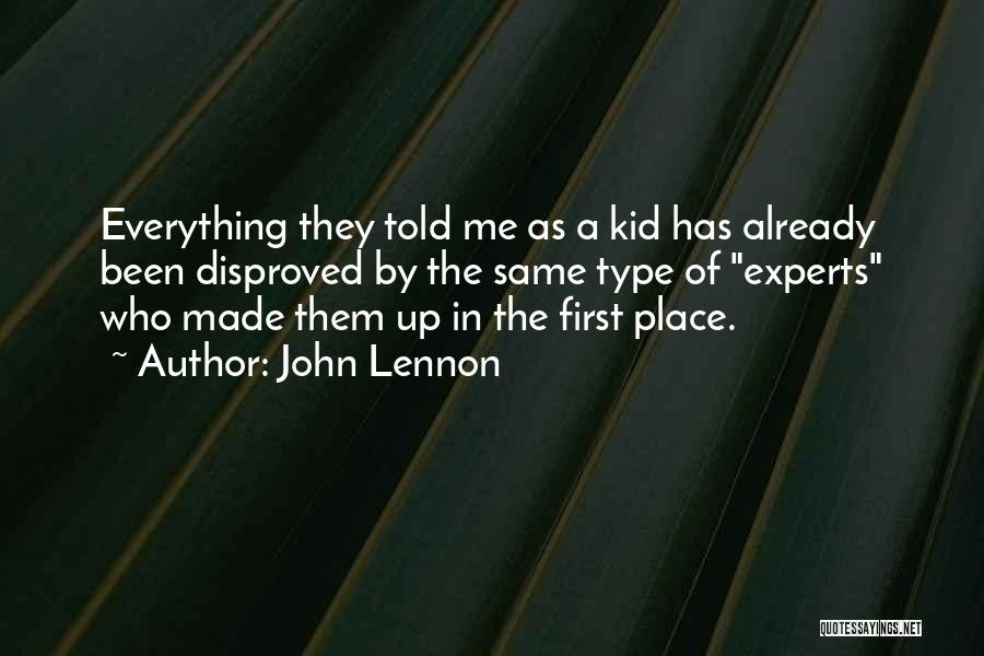 The Kid Who Quotes By John Lennon