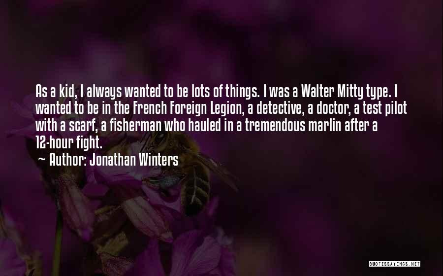 The Kid Who Quotes By Jonathan Winters