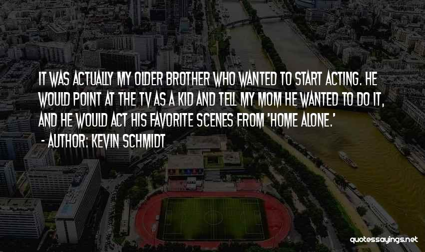 The Kid Who Quotes By Kevin Schmidt