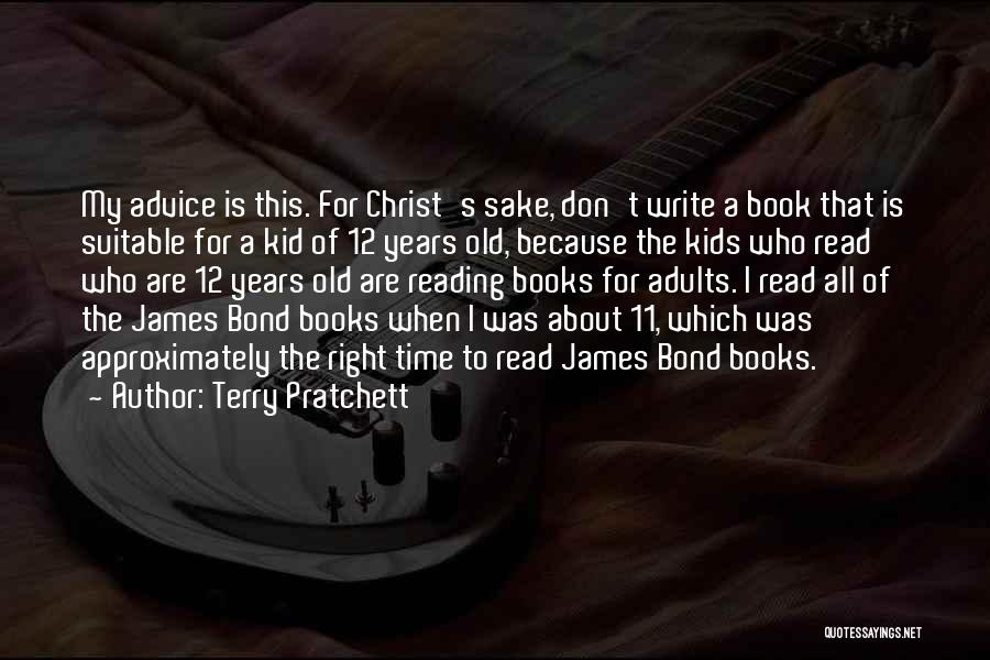 The Kid Who Quotes By Terry Pratchett