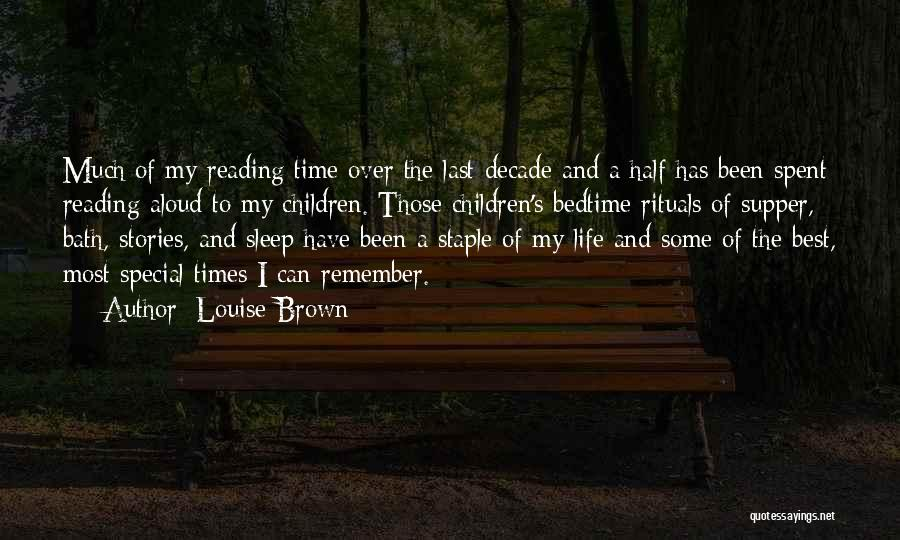 The Last Supper Quotes By Louise Brown