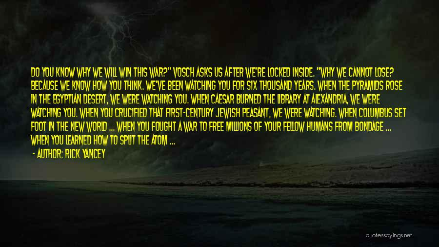 The Library Of Alexandria Quotes By Rick Yancey
