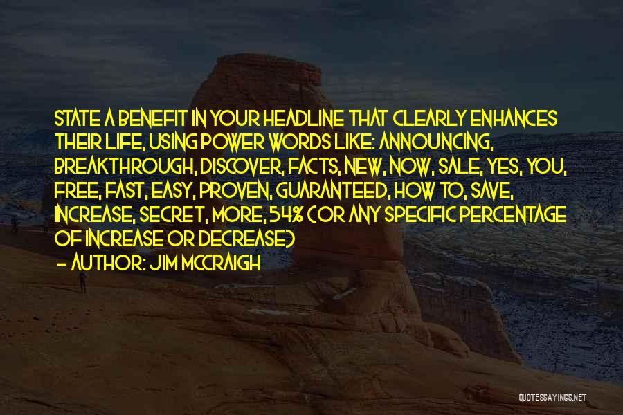 The Life You Can Save May Be Your Own Quotes By Jim McCraigh