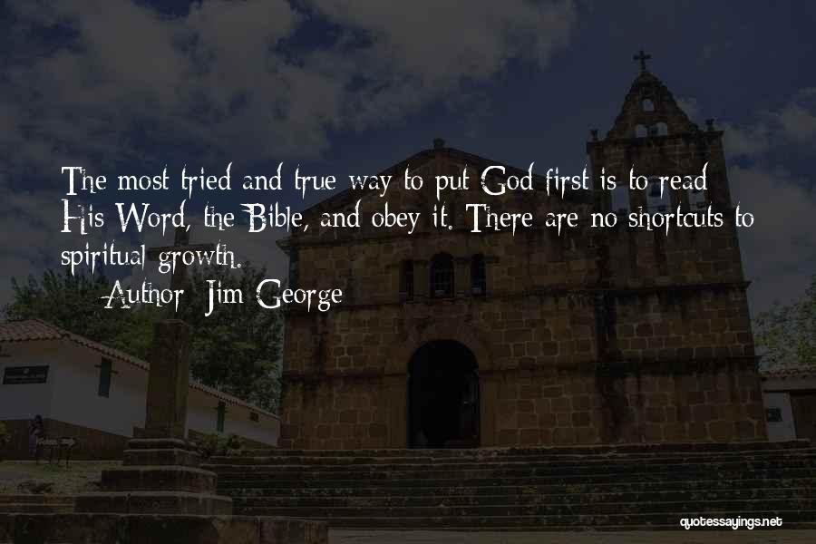 The Living God Quotes By Jim George