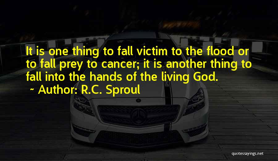 The Living God Quotes By R.C. Sproul