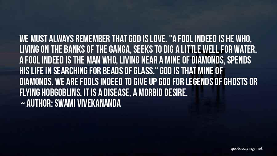 The Living God Quotes By Swami Vivekananda