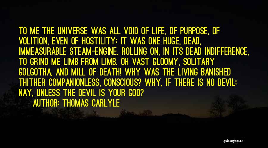 The Living God Quotes By Thomas Carlyle